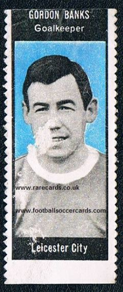 1966 A&BC Gordon Banks Leicester